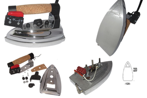 Picture for category Accessories and spere parts irons