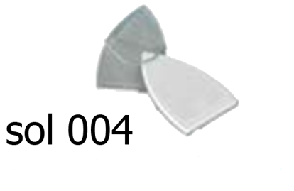Picture of ARMORED PTEF IRON SHOE  SMOLL- L194X118