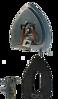 صورة مكواه بخارية ذات مقبض حديد