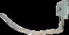 صورة مكواة منزلية  أيرون سخان المونيوم 800 وات